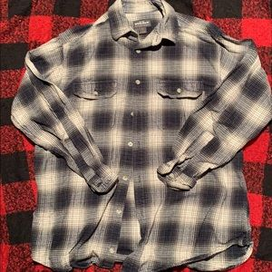 Mens long sleeve button down shirt